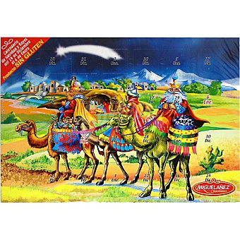 Miguelañez Calendario de Adviento chocolates Unidad 75 g