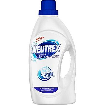 Neutrex Quitamanchas blanco puro en gel sin lejía Oxy 20 dosis