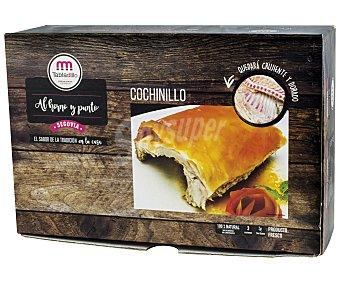 Tabladillo Cuarto de cochinillo fresco, sin gluten y listo para hornear 1300 gramos aproximados