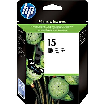 HP Nº 15 cartucho color negro