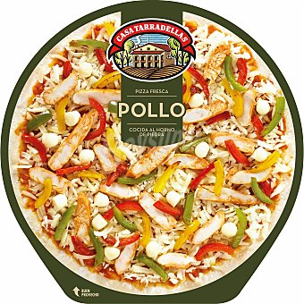 Casa Tarradellas Pizza fresca de pollo 410gr