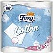 Papel higiénico Cotton 5 capas paquete 4 rollos Foxy