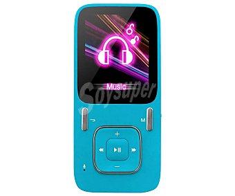 "Qilive Reproductor MP4 Q.1569 Azul, 4GB, LCD de 4,5 cm (1,8""), lector tarjetas microsd Azul, 4GB, LCD de 4,5 cm (1,8""), lector tarjetas microsd"