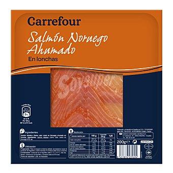 Carrefour Salmón ahumado Noruego 200 g