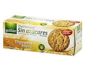 Gullón Galleta Digestive con avena sin azucares añadidos 410 g