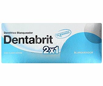 Dentabrit Crema dental blanqueadora 2 Unidades de 125 Mililitros