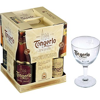 TONGERLO DISCOVERY BOX Cerveza belga Pack 3 botellas 33 cl