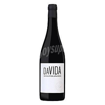 Davida Vino tinto sin sulfitos añadidos Botella 750 ml