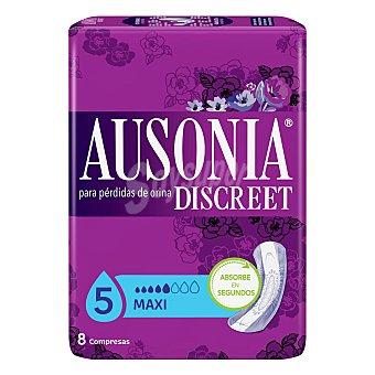 Ausonia Compresa discreet maxi Bolsa 8 un