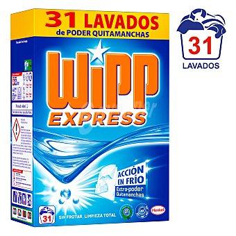 Wipp Express Detergente máquina polvo Maleta 31 dosis