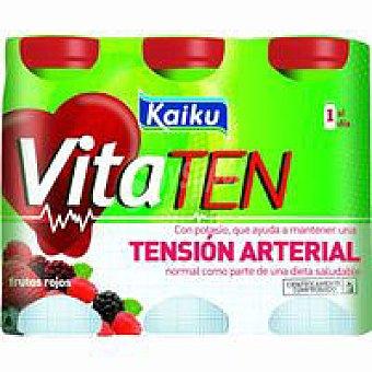 Kaiku Vitaten frutos rojos Pack 6x60 ml