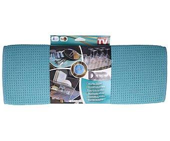 Best of tv Posavajillas de microfibra color azul, 40,6x45,7cm., TV.