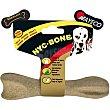 Bone hueso prensado para perros adultos aroma a bacon Envase 1 unidad Nayeco