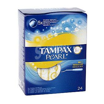 Tampax Pearl tampón regular Caja 24 uds