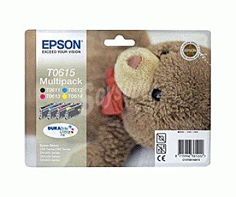 Epson Cartucho T0615 4 Colores
