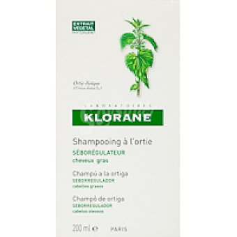 Klorane Champú de ortiga Bote 200 ml
