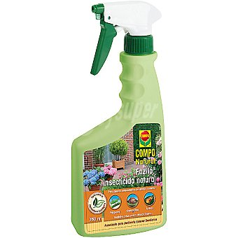 Compo Fazilo insecticida natural autorizado para jardinería exterior doméstica pistola 750 ml