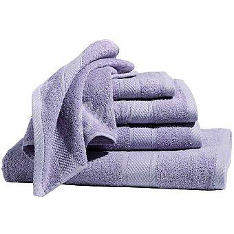 Casactual Toalla de ducha lisa de rizo americano en color lila 1 unidad