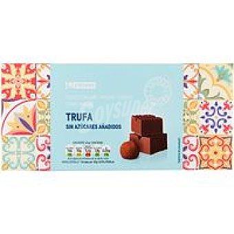 Eroski Turrón praliné de trufa sin azúcar Caja 200 g