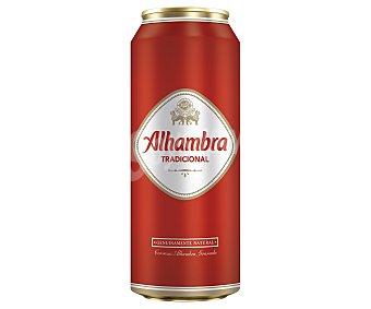 Alhambra Cerveza Lata de 50 centilitros