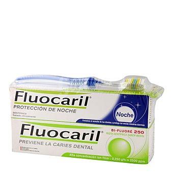 Fluocaril Dentifrico día-noche Pack 2x125 ml + Cepillo