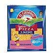 Queso rallado 3 quesos especial para pizza Bolsa 140 g El Caserío