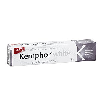 Kemphor Pasta dentífrica Blanco Total Tubo 75 ml
