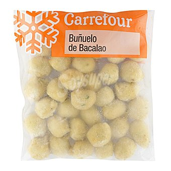 Carrefour Buñuelos de bacalao Bolsa de 400 gr