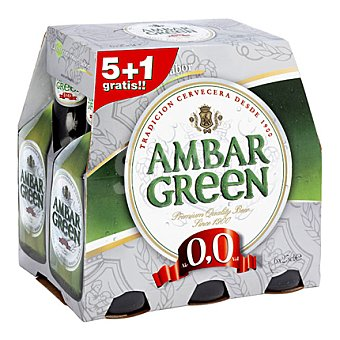 Ambar Cerveza green Pack de 6x330 ml