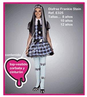 Disfraz frankie stein percha y bolsa T/5.(DISFRAZ con falda + cinturón)