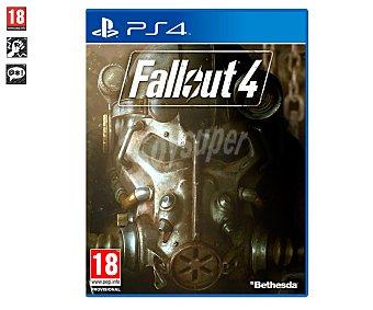 ACCIÓN-ROL Videojuego Fallout 4 para Playstation 4, género: acción, rol, rpg. Recomendación por edad pegi: +18 4 Ps4