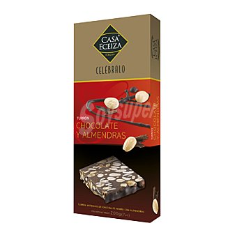 Casa Eceiza Turrón de Chocolate y Almendras 200 g