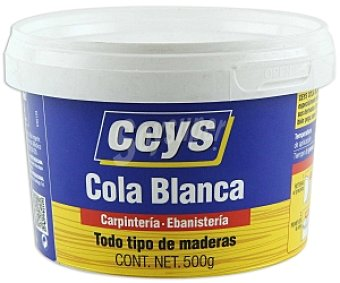 Ceys Cola blanca para todo tipo de maderas 500 Gramos