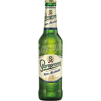 Staropramen Cerveza Checa Sin Alcohol botella 33 cl Botella 33 cl