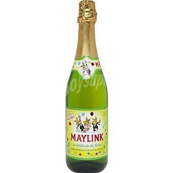 MAYLINK Refresco de manzana botella 75 cl