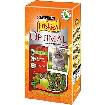 FRISKIES OPTIMAL MENU Croquettes para conejos enanos envase 380 g Envase 380 g