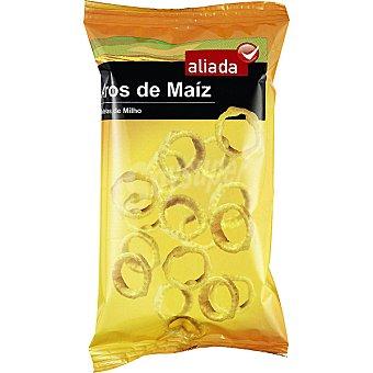 Aliada Snack aros de maíz al queso Bolsa 100 g