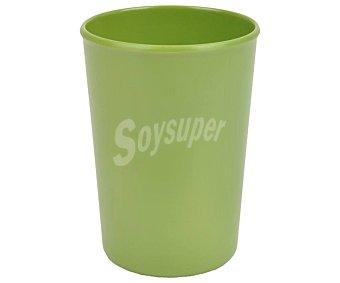 Bormioli Vaso fabricado en melamina color verde, de capacidad, bormioli 0,32 litros
