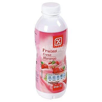 DIA Yogur líquido fresa Botella 750 g