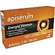 Jalea real vitaminada energía vitamax caja 30 viales  Apiserum