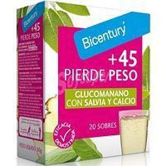 Bicentury Pierde Peso +45  20 sobres (caja 80 g)