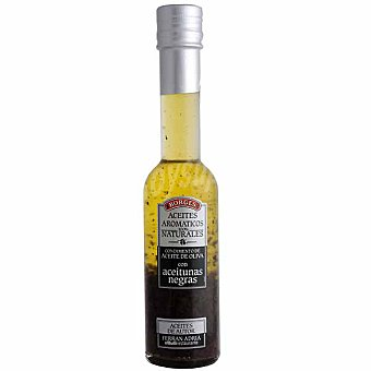 Borges Condimento de aceite de oliva con aceitunas negras Botella 200 ml