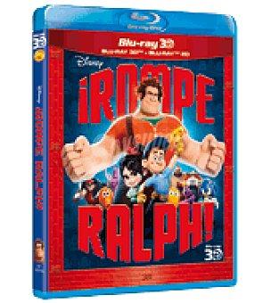 BD +2D ¡ROMPE RALPH! BR 3D