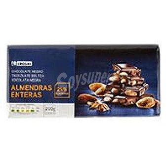 Eroski Chocolate negro almendras 200g