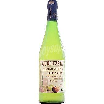Gurutzeta Sidra Natural de Gipuzkoa Botella 75 cl