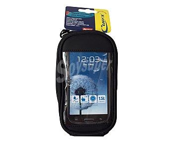 CUP´S Soporte de Smartphones para bicicletas, 100% impermeable, con control táctil y conexión para cascos, hasta 5,5 pulgadas de pantalla 1 unidad