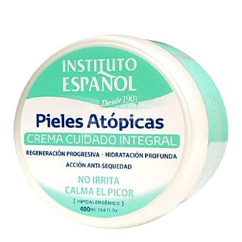 Instituto Español Tarro de crema corporal para pieles atópicas 400 ml