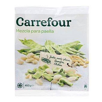 Carrefour Verdura para paella congelada 450 g