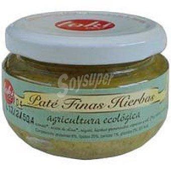Toki Eco Paté a las finas hierbas Frasco 110 g