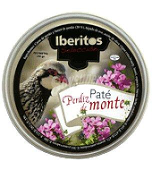 Iberitos Paté Perdiz del Monte selección 140 g